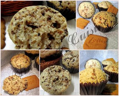 biscoff chocolat muffins
